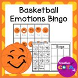 Basketball Activity Feelings and Emotions Bingo