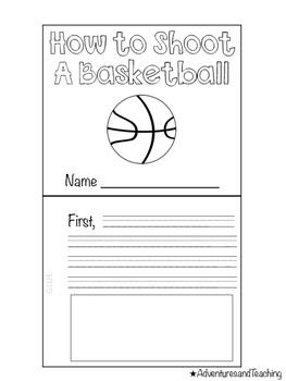 Basketball Flipbook {Craftivity}