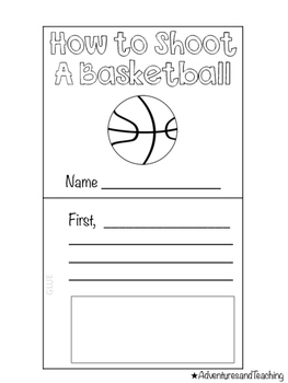 Basketball Flipbook {Craftivity}