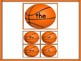 Basketball Fry 1st 100 Words High Frequency Sight Word Flashcards & Posters
