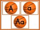 Basketball Full Page Alphabet Letter Posters Word Wall Headers