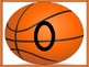 Basketball Full Page Math Number Posters 0-100