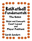 Basketball Fundamentals Rules and Concepts