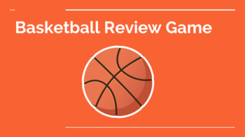 Basketball Game Review Template