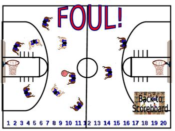 Basketball Game for Spanish or Any Other Subject
