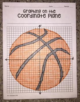 Basketball (Graphing on the Coordinate Plane)