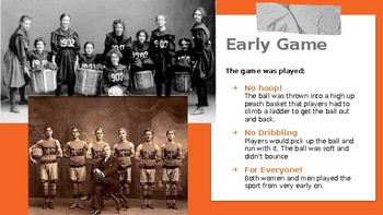 Basketball History and Rules Powerpoint