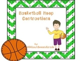 Reading Center Contractions - Basketball Theme