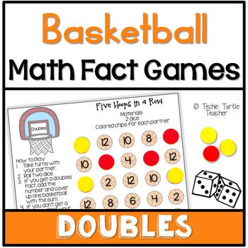 Basketball Hoops Math Games - Doubles