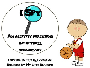 Basketball I Spy