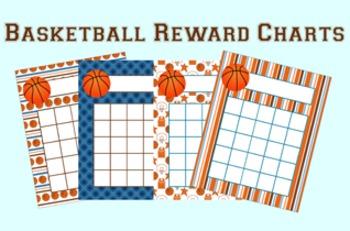 Basketball Incentive Reward Charts