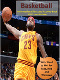 March Madness : Basketball Informational Text and Activities