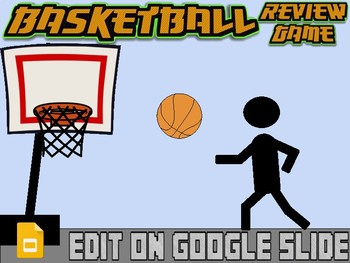 519f6412a454 Basketball  Interactive Review Game (Editable on Google Slides) by ROOMBOP