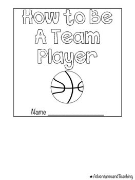 Basketball Jersey Flipbook {Craftivity}