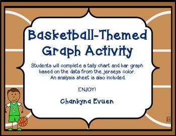 Basketball Jersey Graph Activity Freebie