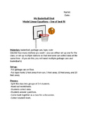 Basketball Lab - Algebra: Linear Equations - Line of Best Fit