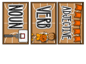Basketball Literacy Stations and Printables