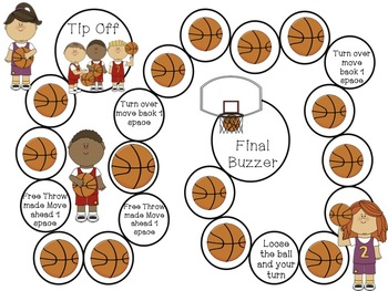 Basketball Madness Multiplication and Division
