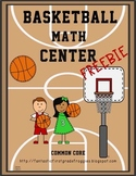 Basketball Math Centers-FREEBIE