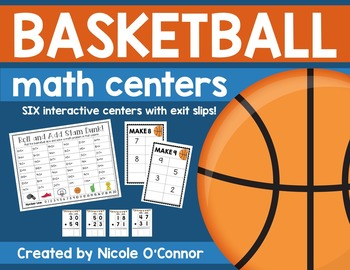 Basketball Math Centers