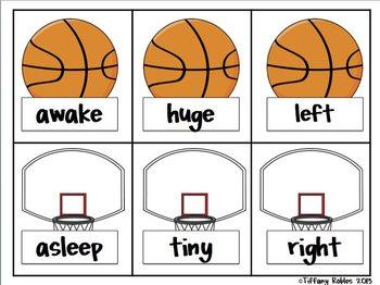Basketball Math & Literacy Centers: Common Core