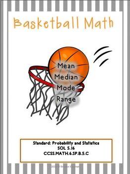 Basketball Math: Mean, Median, Mode & Range