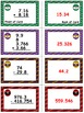 Basketball Bonanza Game Cards (Add & Subtract Decimals) Sets 4-5-6