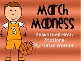 Basketball Math Stations