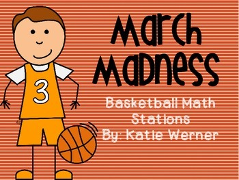 Basketball Math Stations