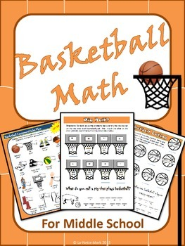 Basketball Math for Middle School