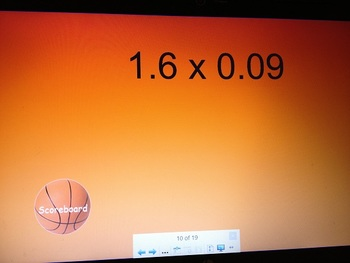 Basketball Multiplication Review