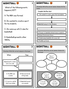 Basketball NF TEI Practice (Google Classroom & PDF) Distance Learning