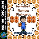 Basketball Number Math Flashcards 0-100