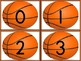 Basketball Number Flashcards 0-100