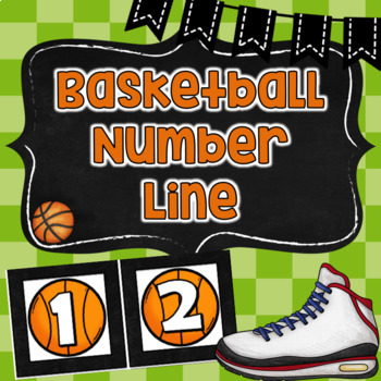 Basketball Number Line