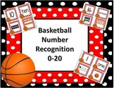 Number Recognition to 20 (basketball)
