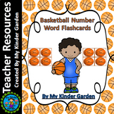Basketball Number Word Flash Cards Zero To One Hundred