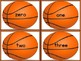 Basketball Number Word Flashcards Zero To One Hundred