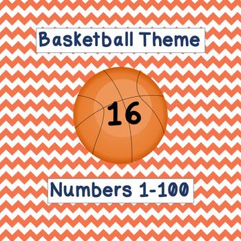 Basketball Numbers 1-100