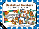FREE Basketball Numbers {A Hughes Design}
