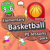 Basketball PE lessons - Gym Unit with plans, drills, skill