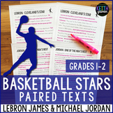 Basketball Paired Texts: LeBron James and Michael Jordan (
