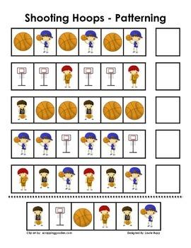 Basketball Patterning Set