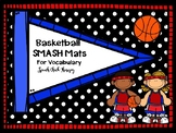 Basketball Playdough SMASH mats for Speech and Language