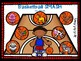 Basketball Playdough SMUSH mats for Speech and Language