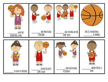 Basketball Pronouns