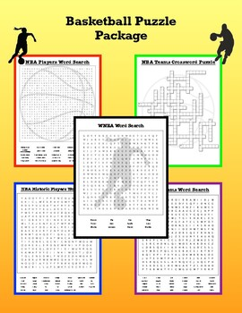 Basketball Puzzle Package by Instructional Designs | TpT