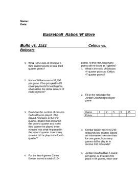 Basketball Ratio/Proportion