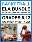 Basketball Reading and Writing Bundle