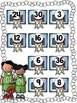 Basketball Roll and Cover for Multiplication Center Activity
